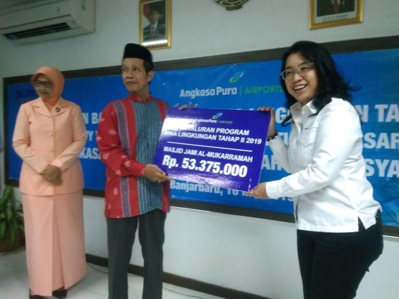 Bandara Syamsudin Noor Bantu Masyarakat Sekitar
