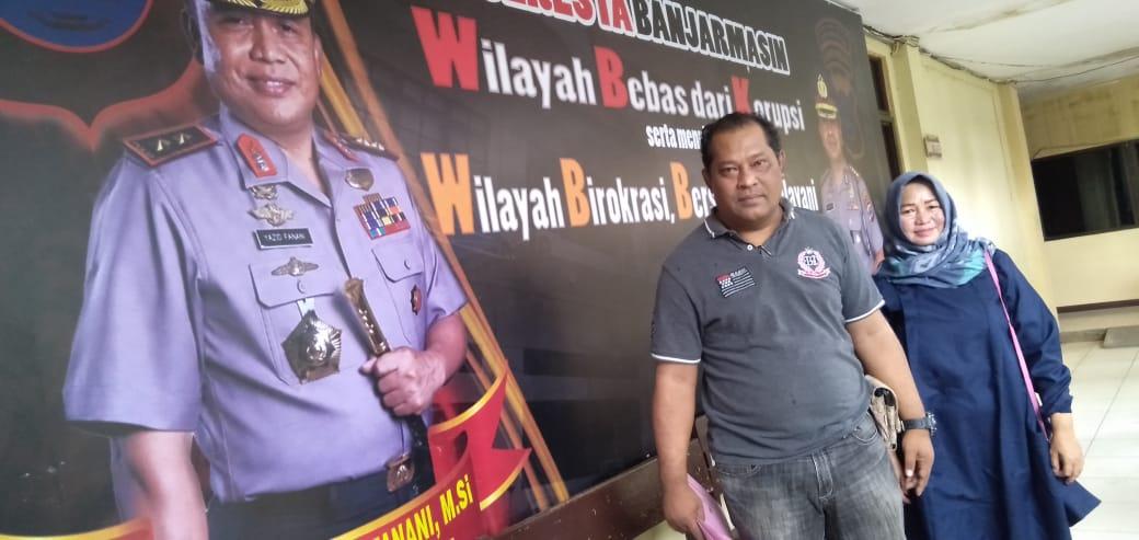NASIB Seorang Polisi dan Istrinya Gagal Umrah Diduga Ditipu Agen Travel di Banjarmasin dan Inilah Kronologisnya