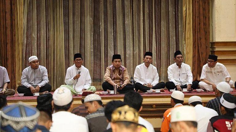 Ibnu-Herman Rajut Kebersamaan, Bukber bersama BPK