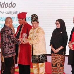 IBNU RAIH Penghargaan PWI atas Dedikasinya di Kearifan Lokal