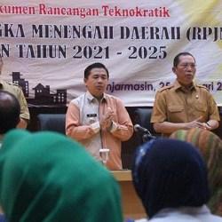 PENYUSUNAN Dokumen Rencana Teknokratik RPJMD Banjarmasin 2021-2025 Disosialisasikan