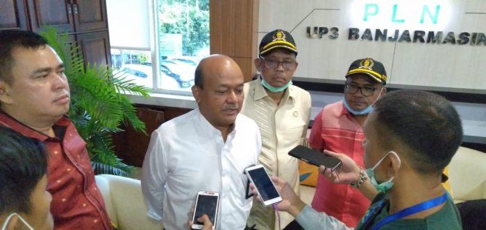 SUPLAI Listrik Disituasi Penanganan Corona dan Ramadhan Dipertanyakan Komisi III DPRD Kota Banjarmasin