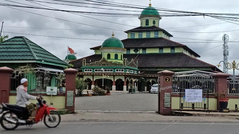 TAAT Imbauan MUI, Sejumlah Masjid di Kalsel Tiadakan Shalat Jumat