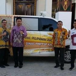 GERAI Pelayanan Perizinan DPMPTSP Kalsel, Jemput Bola dengan Mobil Keliling