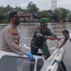 WARGA di Pinggiran DAS Barito Sempat Terkejut Kedatangan Polisi dan Tentara
