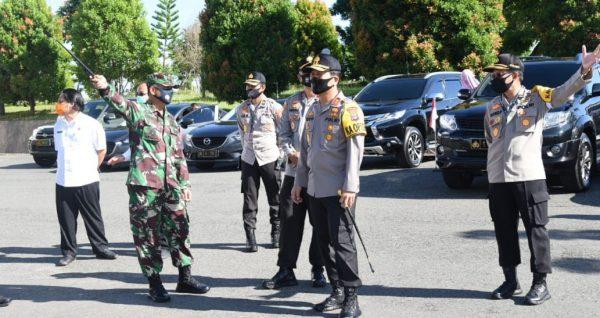 PERSIAPAN Sambut Panglima TNI dan Kapolri, Kamis Ini