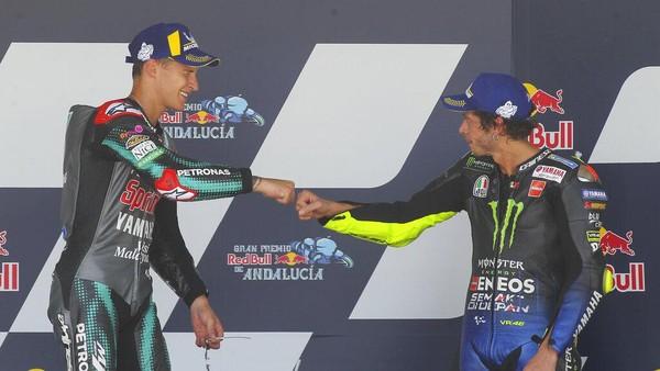 TONGKAT ESTAFET, Rossi 'Serahkan' pada Fabio Quartararo