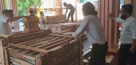 SIAP DIDISTRIBUSIKAN APD Petugas Pilkada Ke-6 Kabupaten di Kalsel