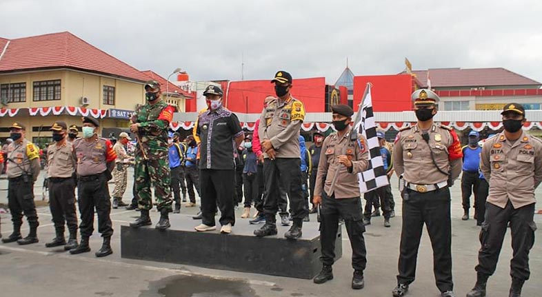 TIM BAKSOS Peduli Covid-19 yang Libatkan TNI, Polri, Tagana dan Ormas Langsung Bergerak