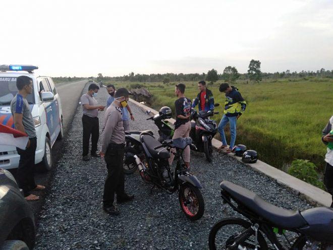 """UNIT Lantas dan Sabhara Datangi Lokasi atas Laporan Aksi """"Bali"""""""