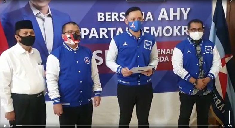 DEMOKRAT SUSUL GERINDRA Usung Denny Indrayana di Pilkada Kalsel 2020
