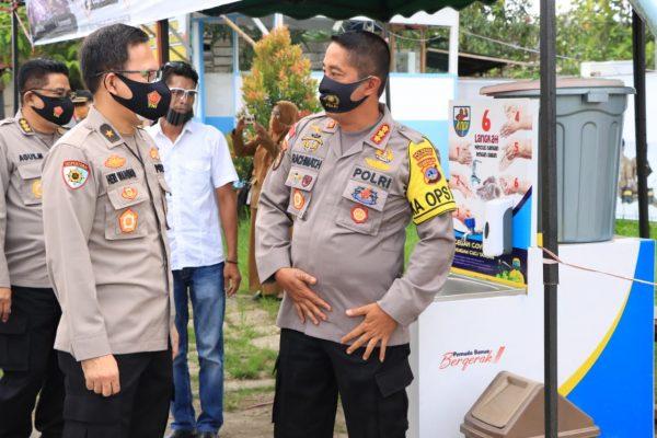 TIM IRWASUM POLRI Pengawasan Operasi Kontijensi Aman Nusa II di Polda Kalsel.
