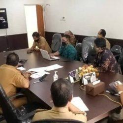 DPMPTSP Kalsel Rapat Daring dengan Tim DSC XI