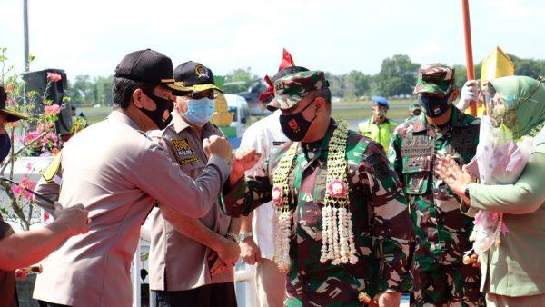 SOLIDITAS Polri-TNI di Kalsel Tetap Terjaga dengan Baik