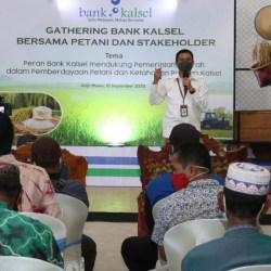 GATHERING Bersama Petani Batola Digelar Bank Kalsel, Dukung Ketahanan Pangan