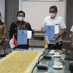 HIBAH Jembatan RK Ilir dari KemenPUPR Diterima Pemko Banjarmasin