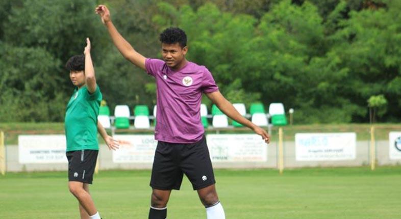 SIAP LAGA Uji Coba di Krosia Skuad Timnas U-19 Indonesia