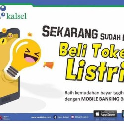 MUDAH dan Praktis Beli Token Listrik di Mobile Banking Bank Kalsel