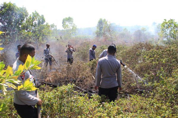 BERMUNCULAN Titik Api, Kapolda Kalsel : Waspada -Siaga Mengantisipasi