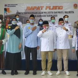 RESMI Ditetapkan Empat Pasangan Calon Pilwali Banjarmasin