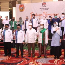 SIAP SUKSESKAN Kampanye Damai dan Sehat di Pilwali Banjarmasin, Ini Komitmen Ananda-Mushaffa