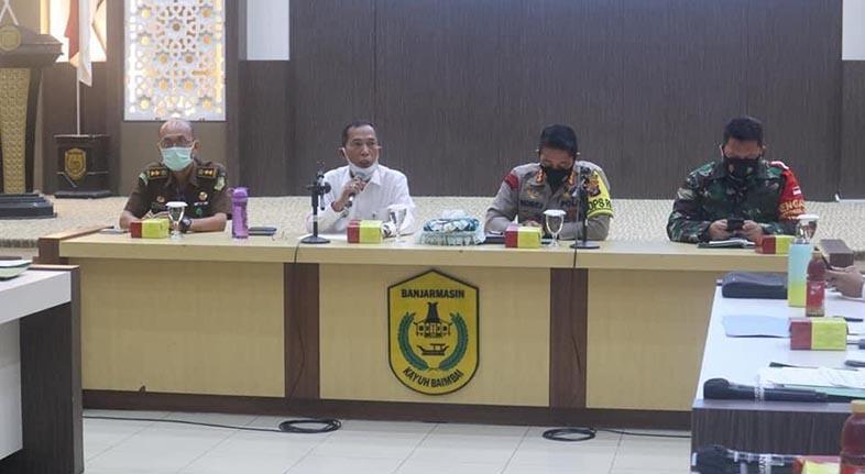 NOL ZONA MERAH Target Kota Banjarmasin Akhir Oktober Ini