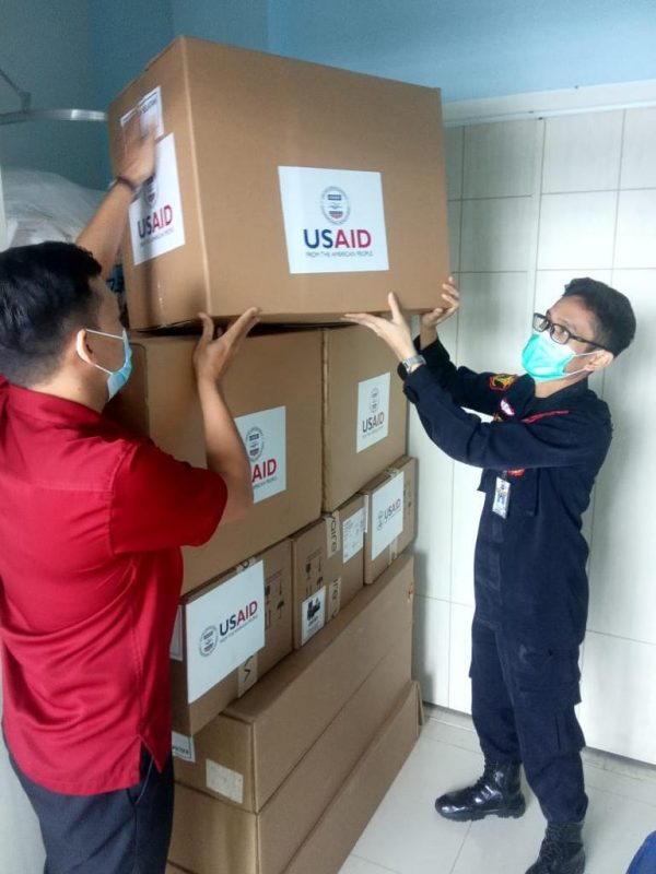 KEMENKES RI Kirim Alat Ventilator ke RS Bhayangkara, Ini Harapan Kapolda Kalsel