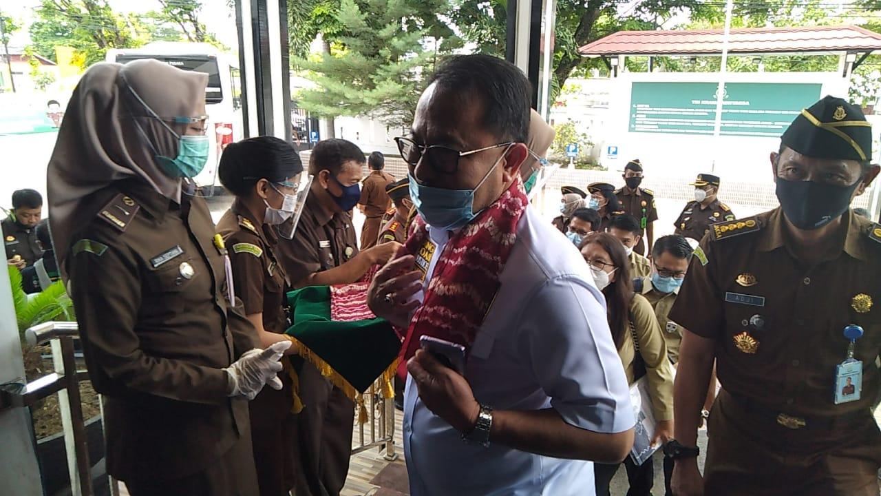 KOMISI III DPR-RI Tiba di Kejati Kalsel, Arie Arifin Sebutkan Upaya Pembenahan Telah Dilakukan