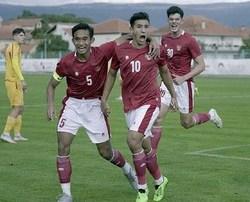 TIMNAS U-19 Gunduli Hajduk Split 4-0, Jack Brown Sumbang Gol