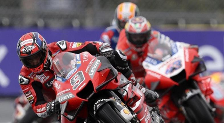 BERJAYA Petrucci, Alex Marquez Finis Kedua di MotoGP Prancis