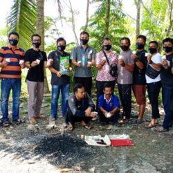 JARINGAN Sabu 1 Kilogram Disergap Anggota BNN Provinsi Kalsel