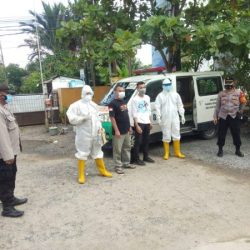 DUA PASIEN di Batola Terkonfirmasi Positif Covid-19 Diantarkan Polisi untuk Karantina di Asrama Haji Banjarbaru