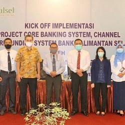 BANK KALSEL Gelar Kick Off Implementasi Core Banking System