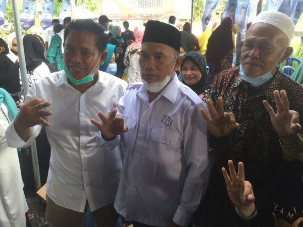 HIJRAH Dua Tokoh PDIP Makin 'Kibarkan' Kedekatan Kemenangan Zairullah- Rusli