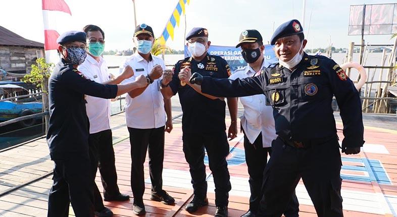 TIM KHUSUS Interdiksi Terpadu, Duet Maut Berantas Narkoba di Kalsel