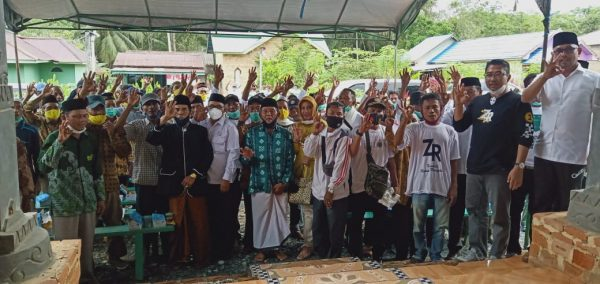KAMPANYE di Kecamatan Karang Bintang, M Rusli Ajak Masyarakat Coblos No 3