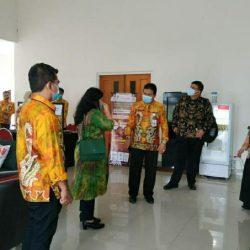 KPK RI Kunjungi Kantor DPMPTSP Kalsel