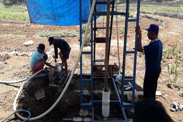 TERIMA KEWENANGAN Air Tanah, Dinas PUPR Kalsel Programkan Pembuatan 5 Sumur Bor