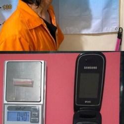 DOYOK GONDRONG Diciduk Polisi di Depan Mini Market