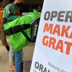 OPERASI Makan Gratis Sasar Martapura, 150 Paket Dibagikan
