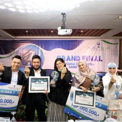 SABET JUARA Lomba Cipta Lagu Bank Kalsel, NAHAP Bawa Pulang Hadiah Utama