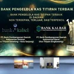 PENGHARGAAN sebagai Pengelola Kas Titipan Terbaik dari Bank Indonesia Disabet Bank Kalsel