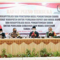 SAH Rekapitulasi KPU Tanah Bumbu, ZR Menang dan Paman Birin Unggul