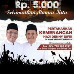 PENGUMPULAN DANA Denny Indrayana Tak Kantongi Izin