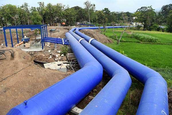 BERPROSES, Proyek SPAM Banjarbakula 500 Liter Perdetik Capai 20 Persen
