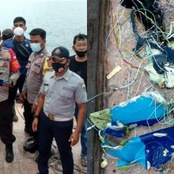 JATUH! Sriwijaya Air Hilang Kontak di Kepulauan Seribu, Puing-puing Ditemukan