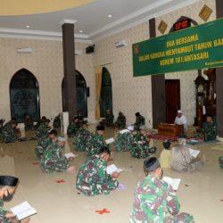 DOA BERSAMA Jajaran Korem 101/Antasari di Malam Tahun Baru, Ini yang Disampaikan Brigjen TNI Firmansyah