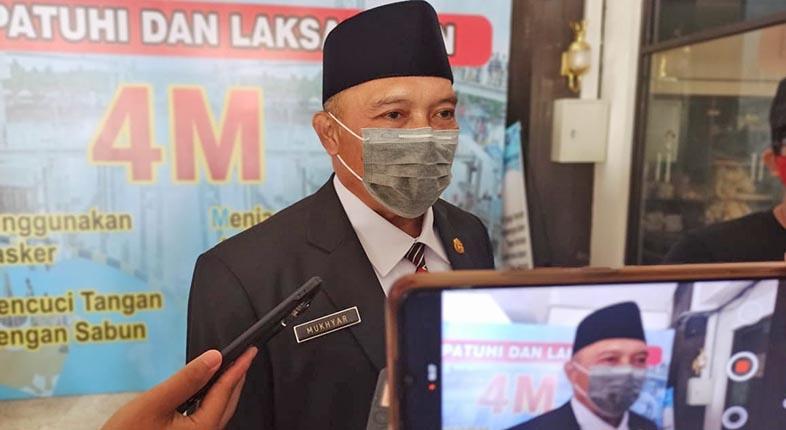 JADI Penjabat Sekda, Mukhyar Siap Selesaikan Pelanggaran Prokes Dinkes