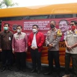 DUKUNG Angkot Ceria, Banjarmasin Terima Hibah Bus Sekolah dari Kemenhub RI