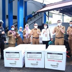 PERTAMA DIVAKSIN Sinovac Walikota Ibnu, Digelar Besok di Banjarmasin